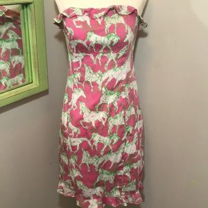 Lilly Pulitzer 'Hot to Trot' Franco Dress